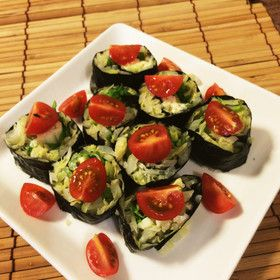 キャベツの海苔巻きサラダ by 須磨のりの河昌 [クックパッド] 簡単おいしいみんなのレシピが271万品