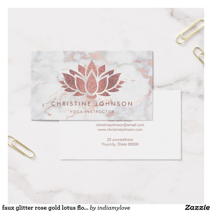 The 108 best Yoga Instructor Business Cards images on Pinterest ...