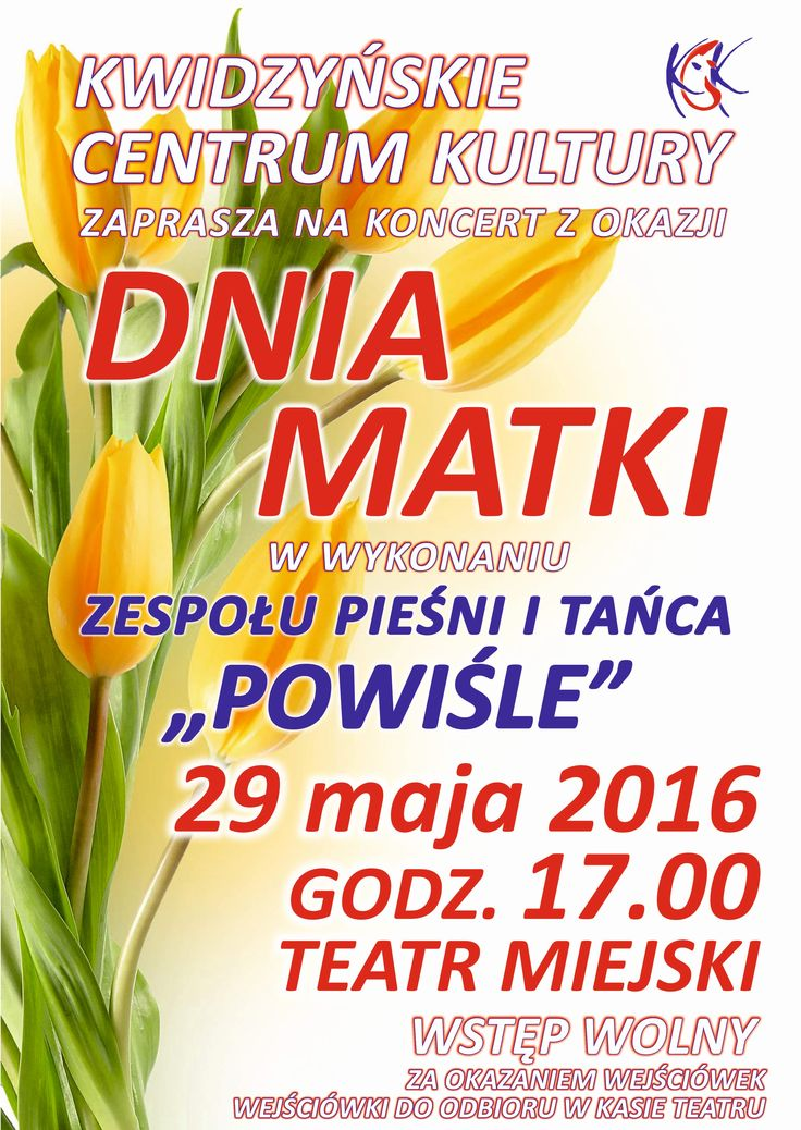 Koncert z okazji Dnia Matki, 29.05.2016 r.