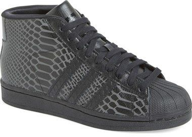adidas 'Pro Model' High Top Sneaker ...