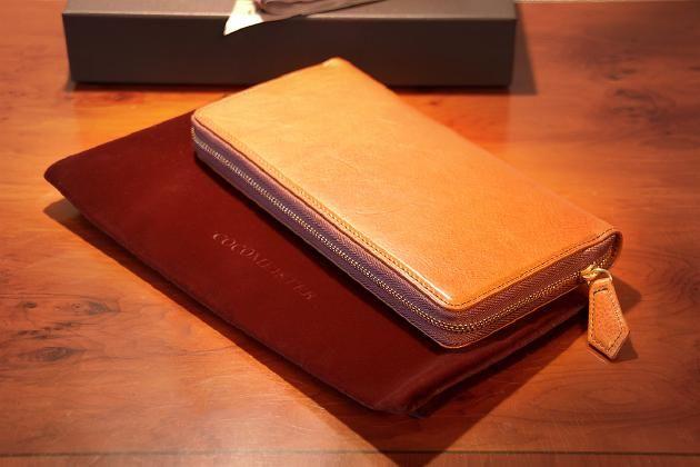 ハイブランドの革財布。ここマイスターの財布がほしい
