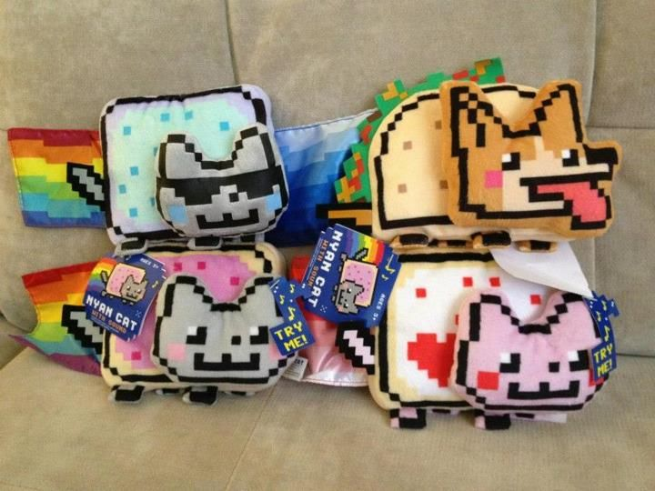 Nyan Cat Nyan Cat Plushy Toys - Find out more what Cat Toys is for your cats at catsincare.com!