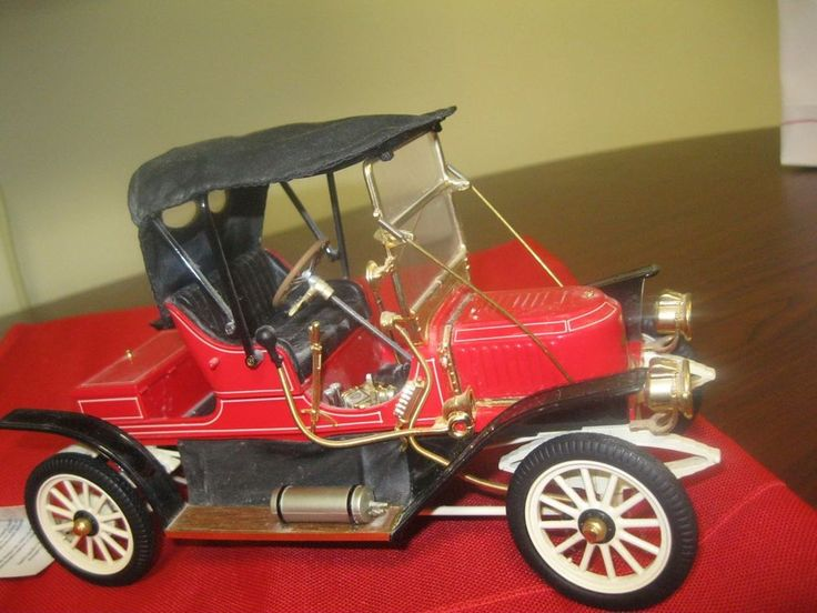 "Stanley Steamer Car >> "" franklin mint`1911 stanley steamer` die-cast` precision runabout` model car` 