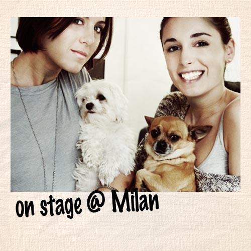 backstage FW12/13 @Milan