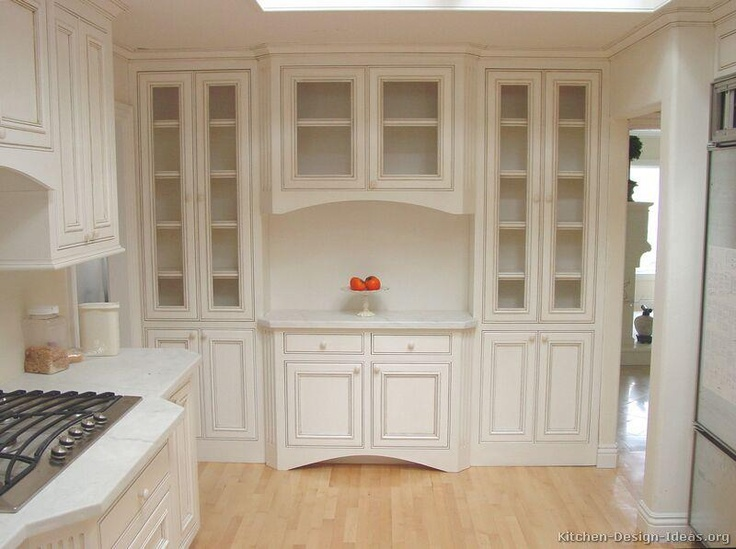 Built in china cabinets inspiration for my home for Built in kitchen cabinets