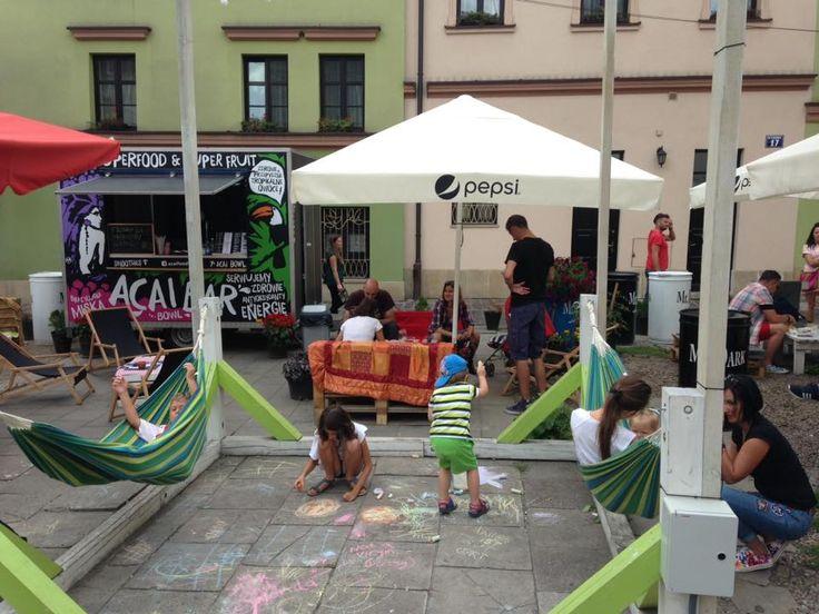 Chill zone - kids zone :) Acai Bar Food Truck Kraków