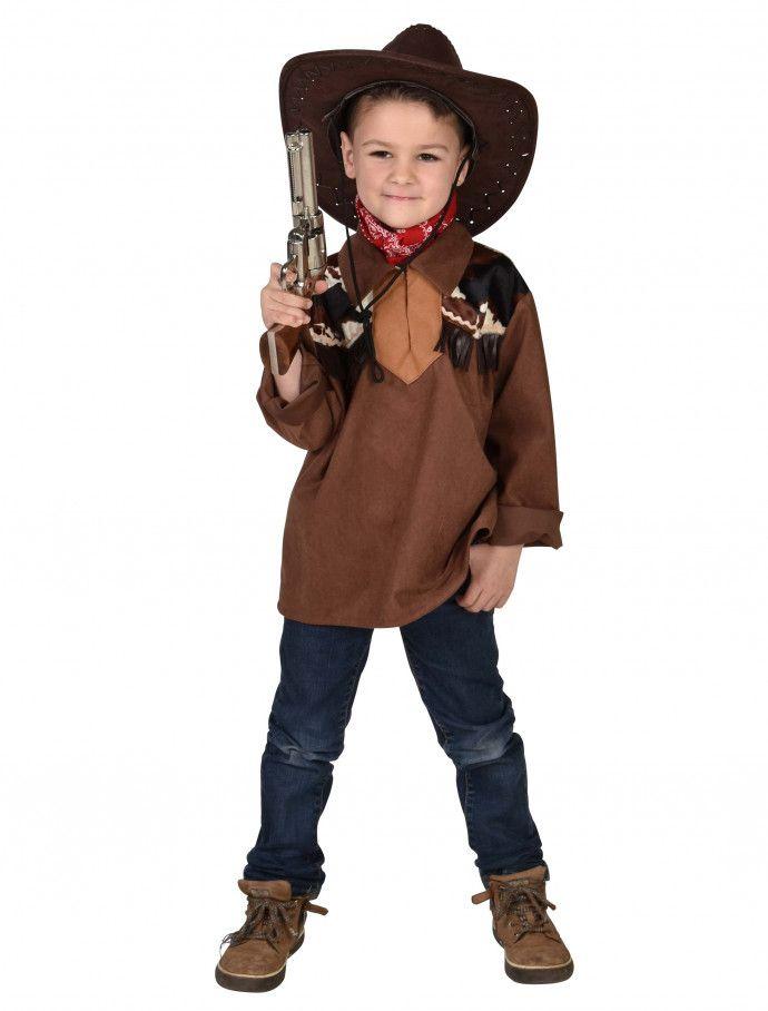 Hemd Cowboy Kinder Braun Fur Karneval Fasching Deiters Cowboy