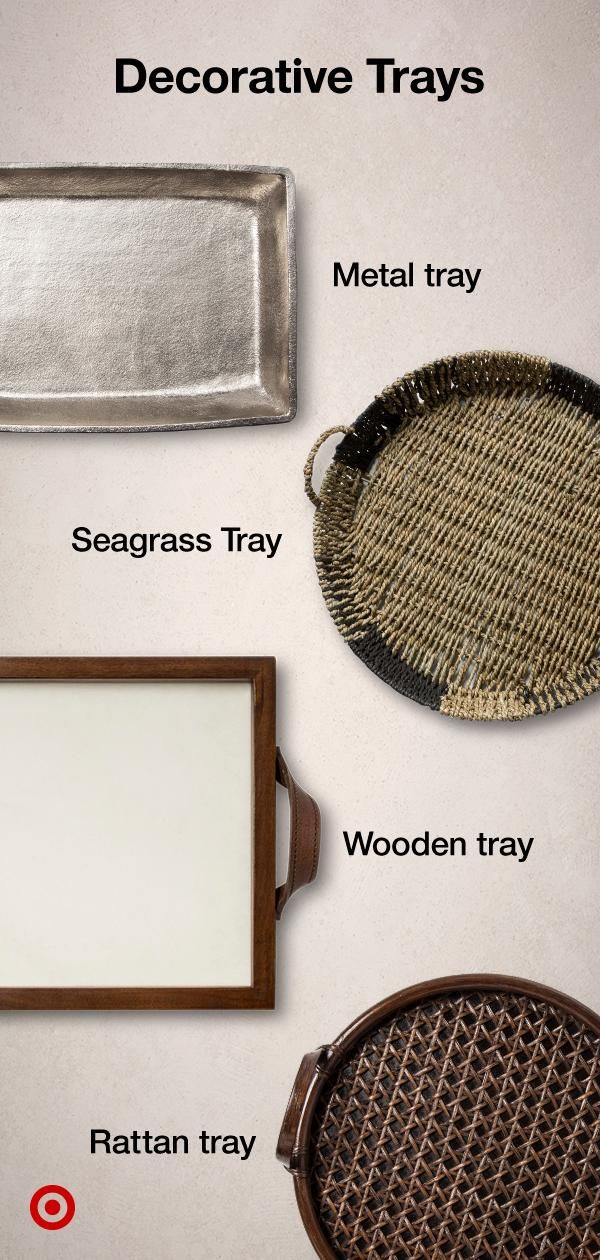 Decorative Trays Organize Your Space Choose From A Variety Of Trays