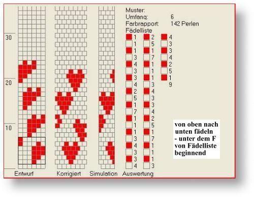 Zincirleri Tığ Mesh - desen kütüphanesi: Herzk1