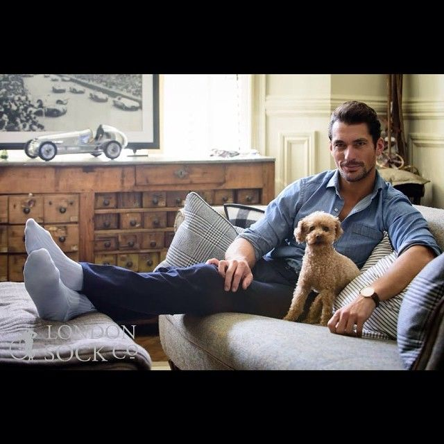 """Regram via @londonsockco: """"Look out for our exclusive interview with David Gandy"""" #thefinerthings"""