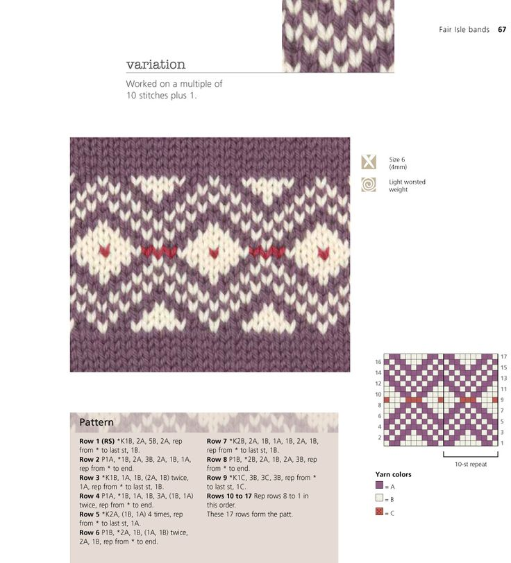 374 best FAIRISLE Knitted pattern charts images on Pinterest ...