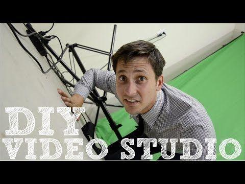 DIY Video Studio - How to Set Up Your Home Film Studio - YouTube