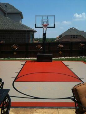 Pro Dunk® Adjustable, In-Ground Outdoor Basketball Goals