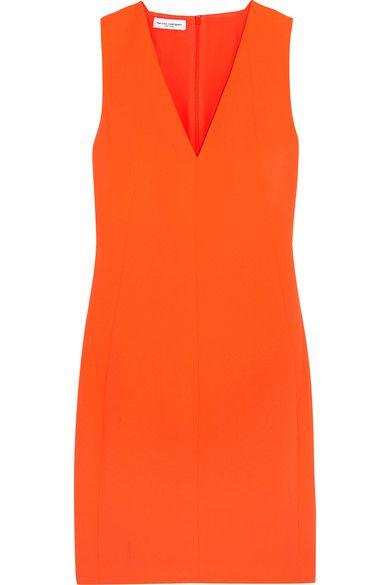 Narciso Rodriguez - Neon Crepe Dress - Orange - IT40