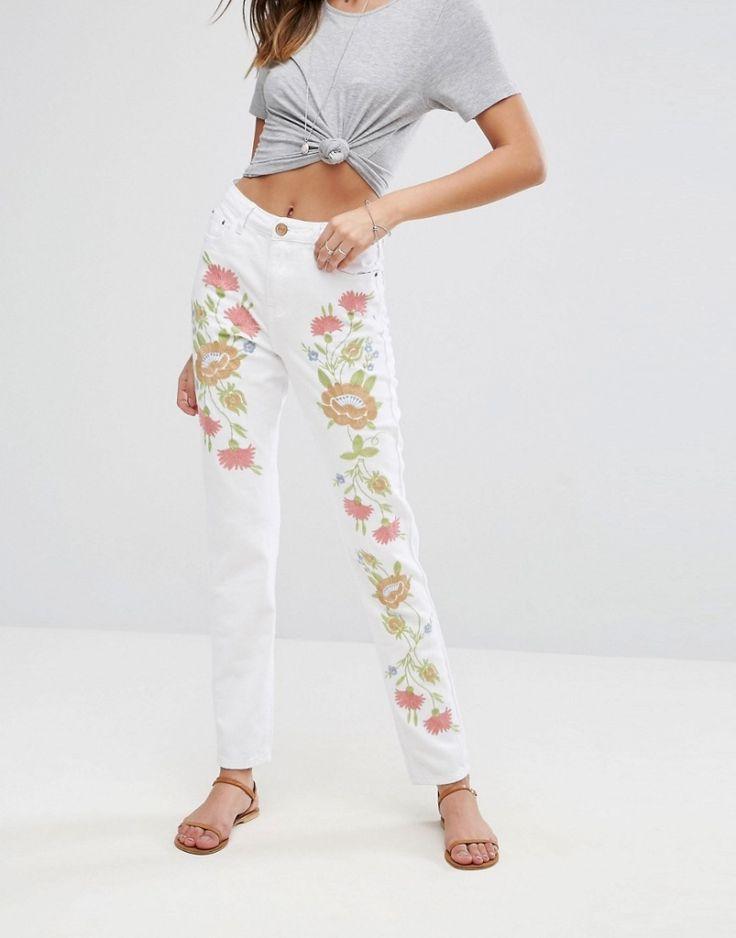 #Damen Glamorous – Jeans – Weiß, 2201466776333