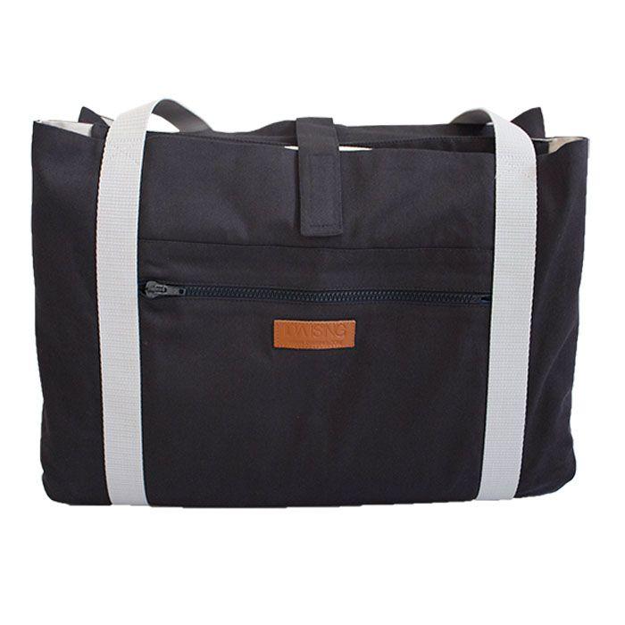 Style: Pine / Danish design - Changing Bag  Oeko-tex baby mattress inside www.idaising.com