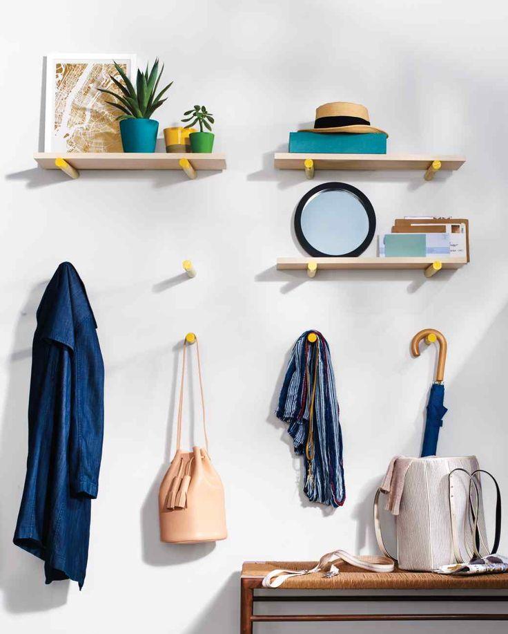 DIY Dowel Brackets - remember those IKEA curtain rods .....?!
