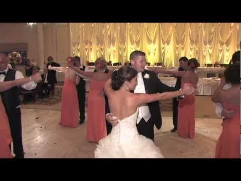 Probably The Coolest Wedding Party Reception Dance Ever