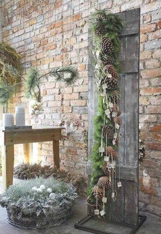 Pine cones hanger via Simple life