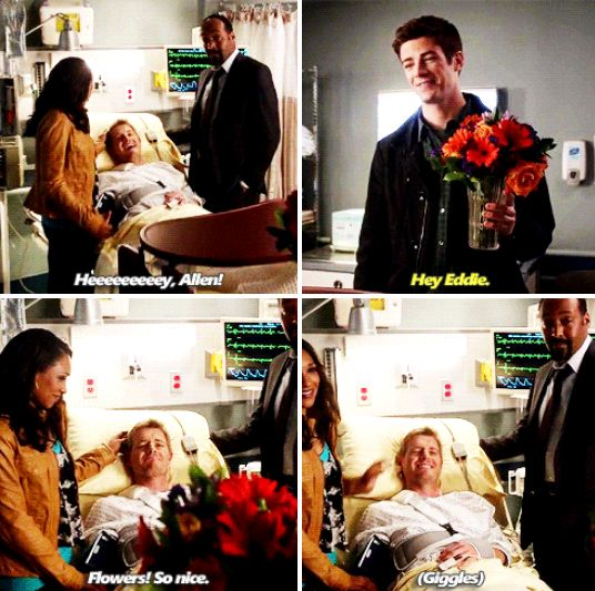 The Flash - Barry, Iris and Eddie #1.7 #Season1
