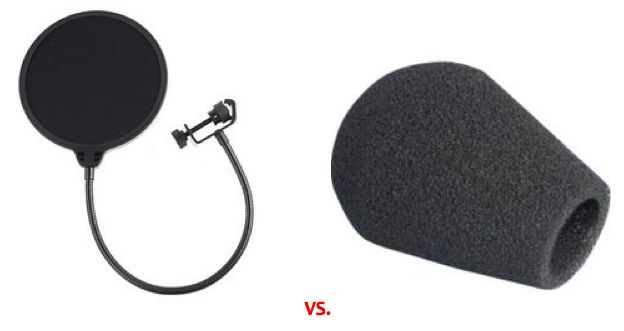 Do you know the difference between a pop filter  a wind sock? Be aware that when using a wind sock (this is a foam cover that goes over the head of the microphone), the sound of the mic can be somewhat altered. High frequency response and sibilance is often diminished and therefore proper technique in combination with a pop filter is a much better solution.  #voiceover