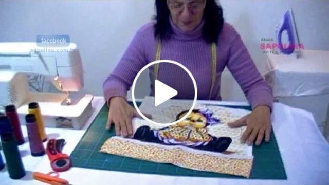 Neste vídeo mostro como fazer lindas barrinhas para enfeitar e deixar mais bonito seus panos de prato