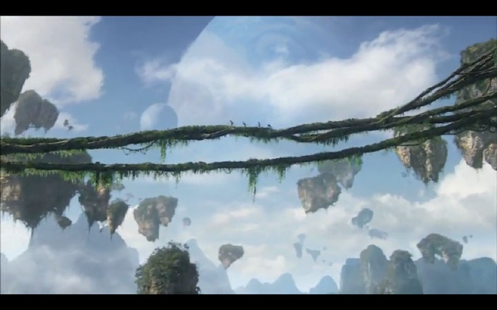 avatar | paisaje aereo