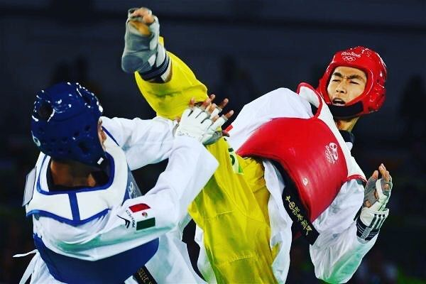 Chinese wins a gold in #taekwondo  #rio #China  #rio2016 #Chinese  #olympics #brazil #roadtorio #samba #makeithappen #countdown #timebrasil #brasil #football #brasilfootball #express #sportsnews #instanews #instasports #tbt #like #follow #2016olympics #competition #schedule #Rumba #espanol