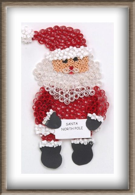 $3.91This jolly old soul carries a letter addressed to Santa at the North Pole.  Adorable!