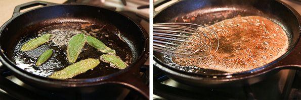 Pan-Fried Pumpkin Gnocchi with Brown Butter Sage | Steamy Kitchen ...