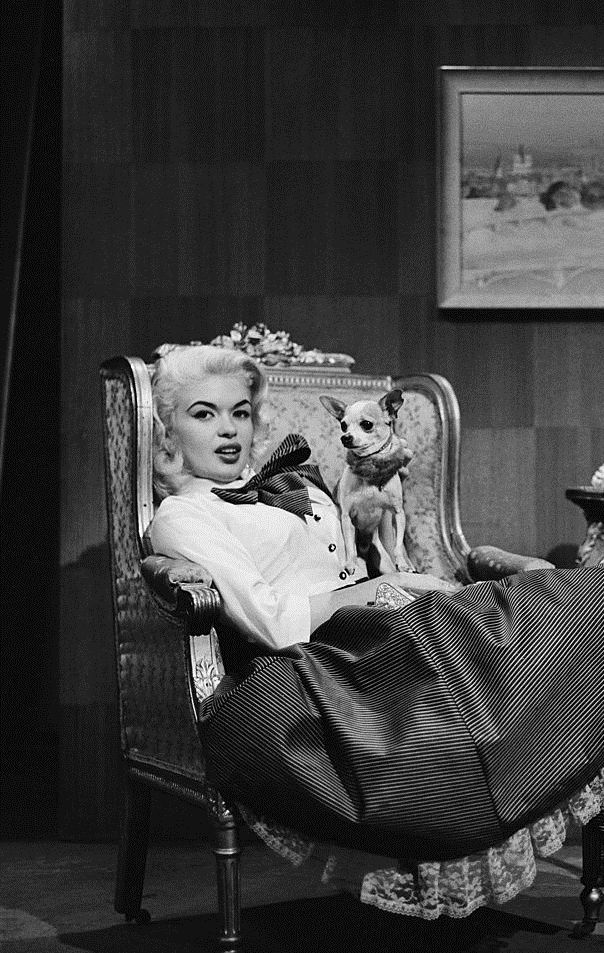Jayne Mansfield on Person to Person in 1956