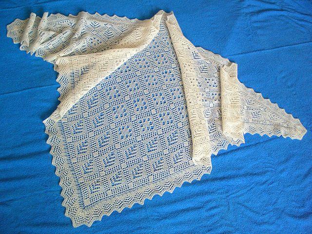 Ravelry: Exclusive Orenburg shawl pattern by Galina Khmeleva