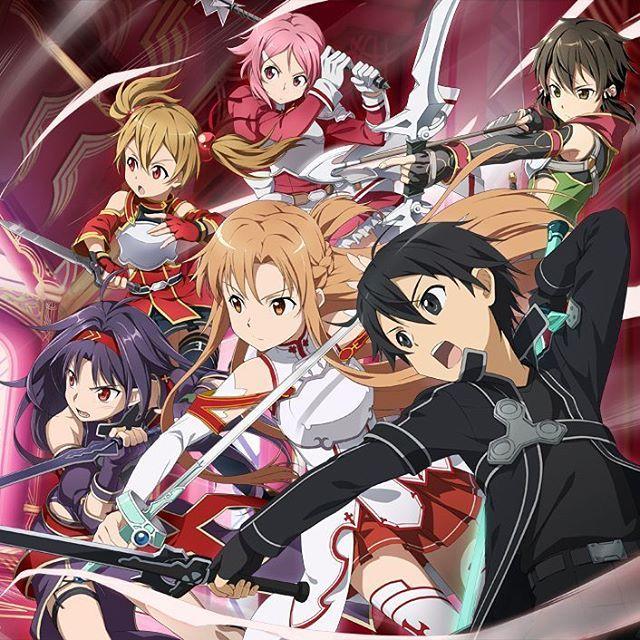 Online Friends - Sword Art Online ~ DarksideAnime