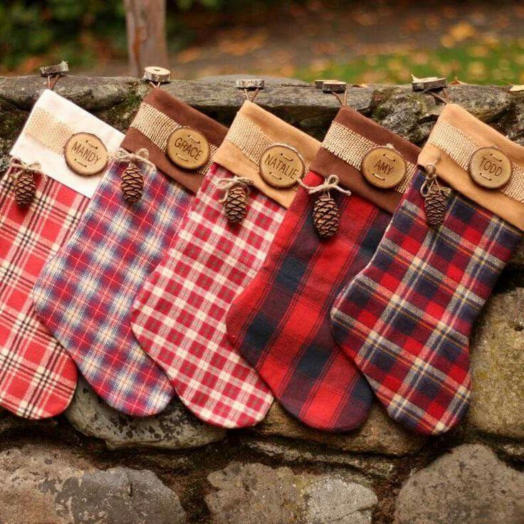 510 Best Christmas Stockings Images On Pinterest