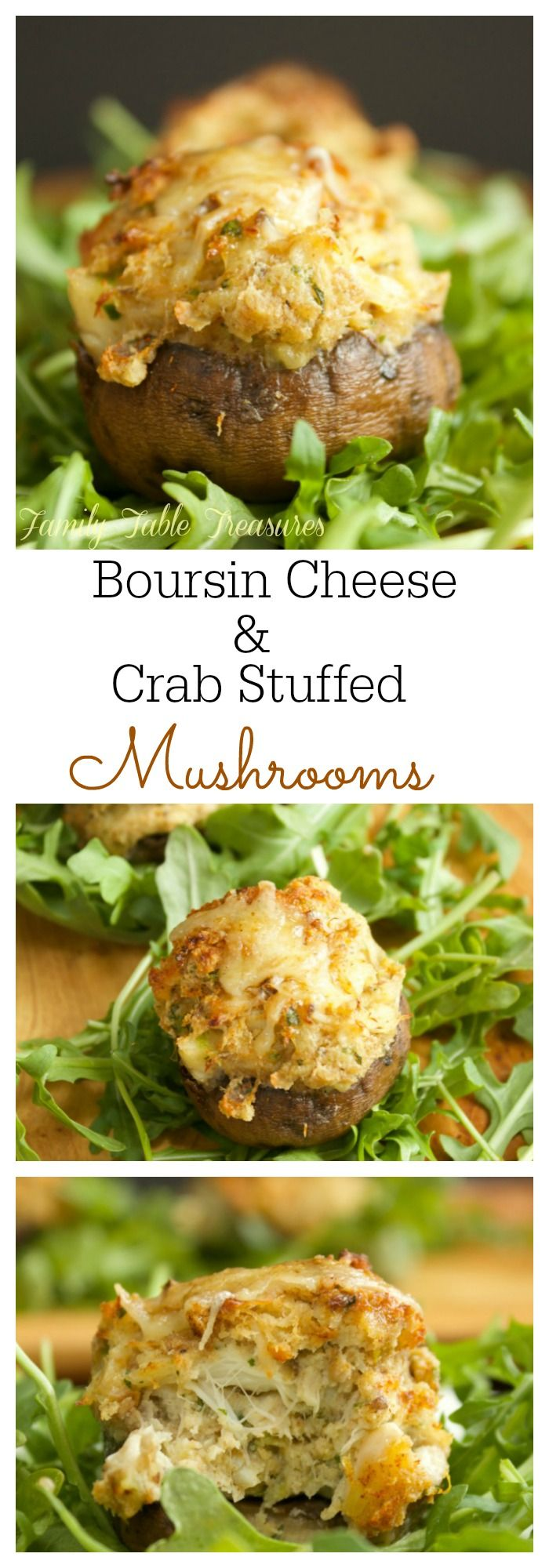 These Boursin Cheese & Crab Stuffed Mushrooms are melt in your mouth delicious. They're so hearty you could even serve them as a meal!I'm not usually a fan of stuffed mushrooms but Mom made these a couple weeks ago and I found myself going back for a second helping! I always taste everything that makes …
