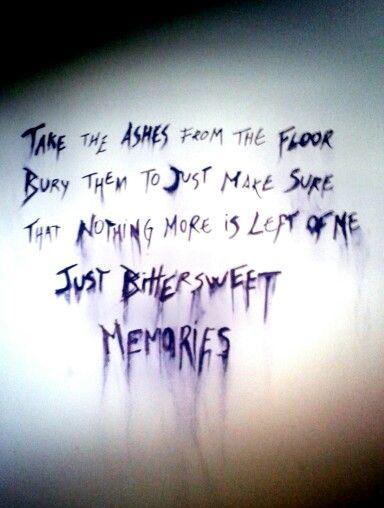 Bullet For My Valentine - Bittersweet Memories Lyrics