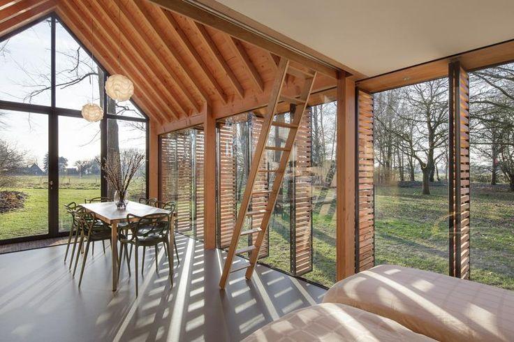 Cottage di design nella campagna olandeseLiving Corriere