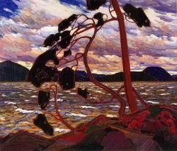 Том Томсон живопись: западный ветер