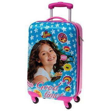 Maleta trolley ABS Soy Luna Disney Good Times 55cm 4r