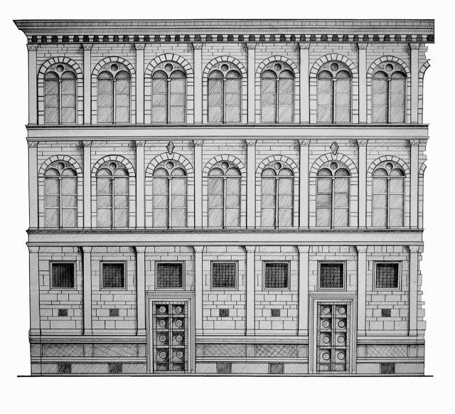 Palazzo Rucellai, Firenze - Leon Battista Alberti (1455)