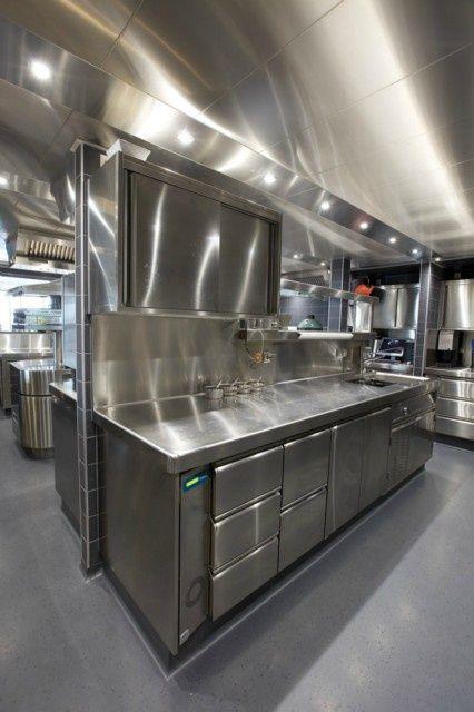 Commercial Restaurant Kitchen Design: 86 Best Cuisine Images On Pinterest