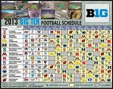 2013 Purdue Boilermakers, Wisconsin Badgers +More-Large Football Schedule Magnet