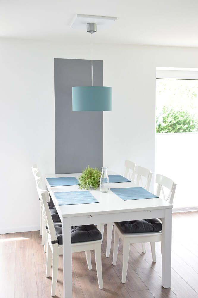 IKEA Wohnzimmerlampe Mit DIY Halterung