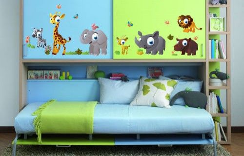 Afritoons vinyl wall stickers from Fantastick Wall Décor (South Africa)  #afritoons #cartoons #southafrica