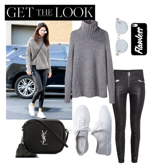 """get the look"" by frdnrmla on Polyvore featuring La Garçonne Moderne, Aéropostale, Yves Saint Laurent, Sun Buddies, GetTheLook and celebritysiblings"