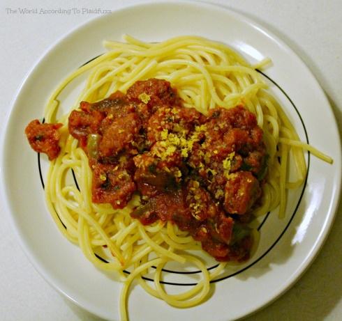 Vegan Spaghetti Sauce - would be good with spaghetti squash!
