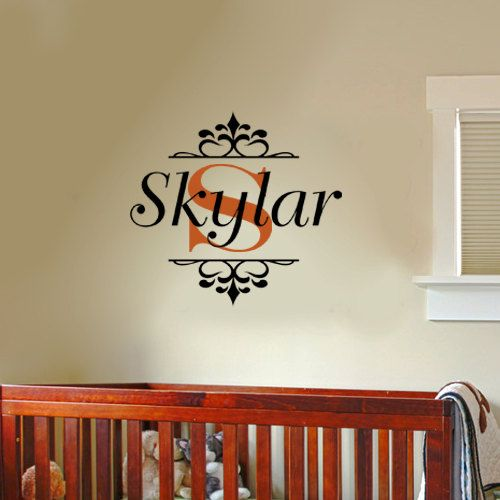 Home Decor Store Names: 17 Best Images About MONOGRAM Personalized Vinyl Wall