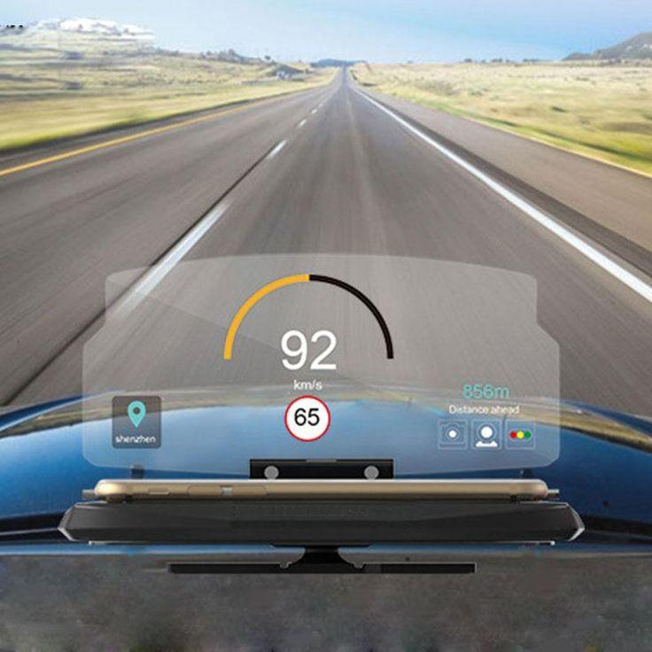 Universal Mobile Phone Car Holder Windscreen Projector HUD Head Up Dis – Shopamia