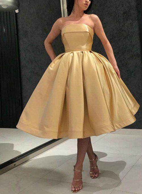 Inexpensive Formal Dresses Tea Length