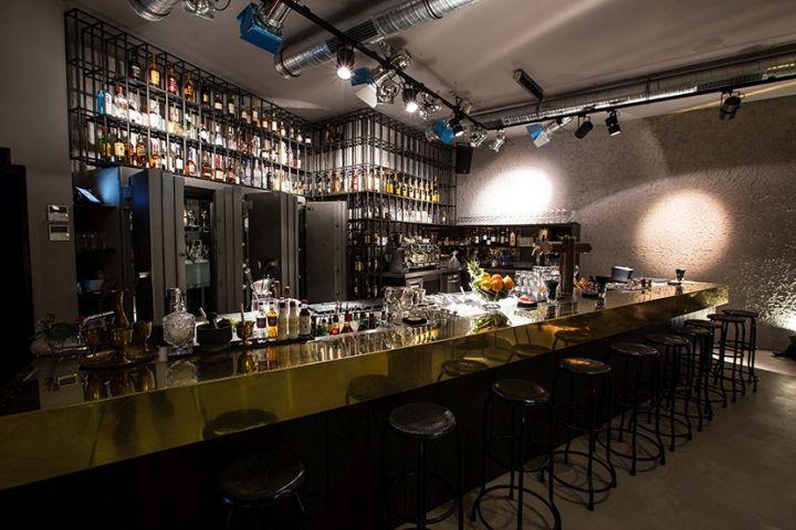 Jesse James Café, Restaurant & Bar by POURNOIR, Frankfurt am Main – Germany » Retail Design Blog